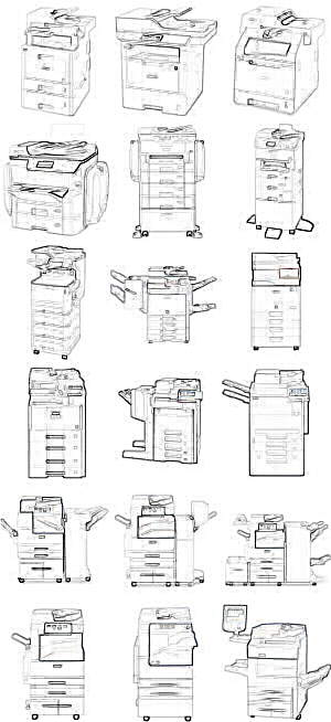 A3 Drucker A3 Kopierer